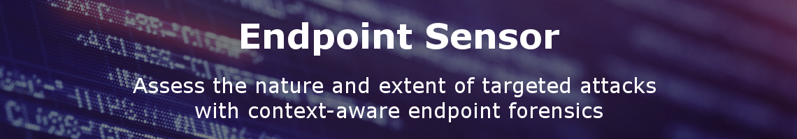 Deep Discovery Endpoint Sensor